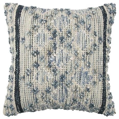 Amazon.com: rizzy home colección de almohada decorativa ...
