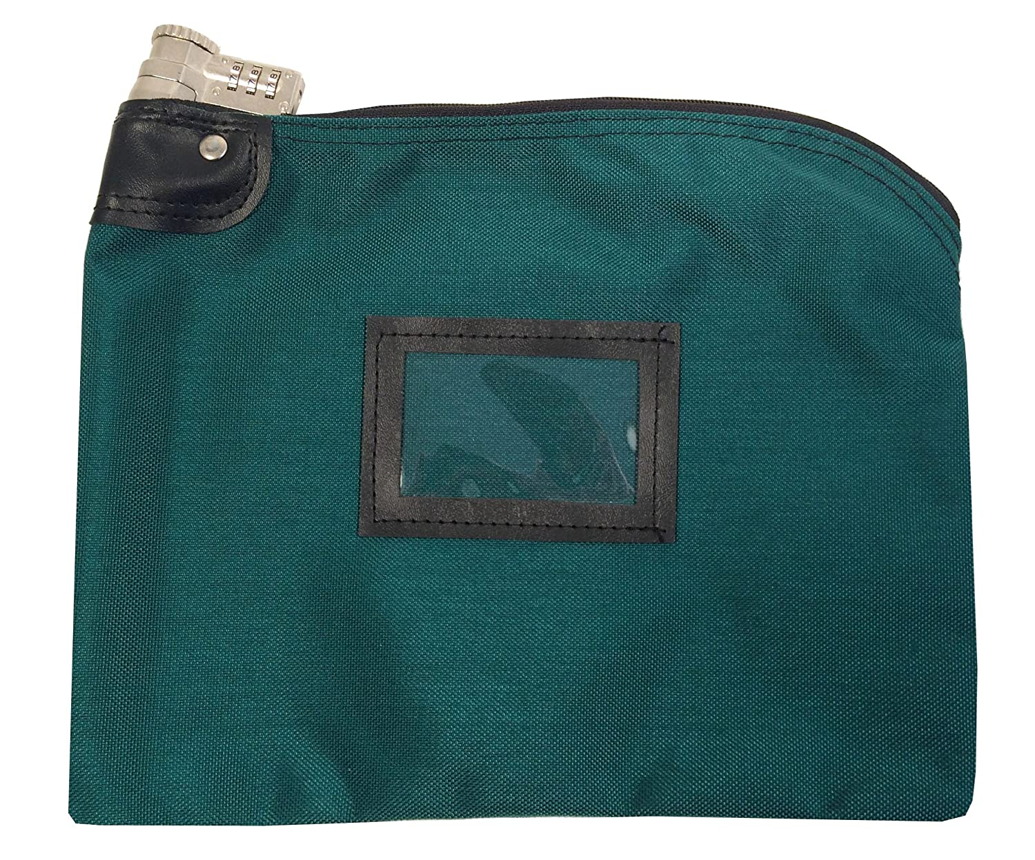 Lockable Bank Bag 1000 Denier Nylon Combination and Keyed Security System (Teal) Cardinal Bag Supplies 76161260