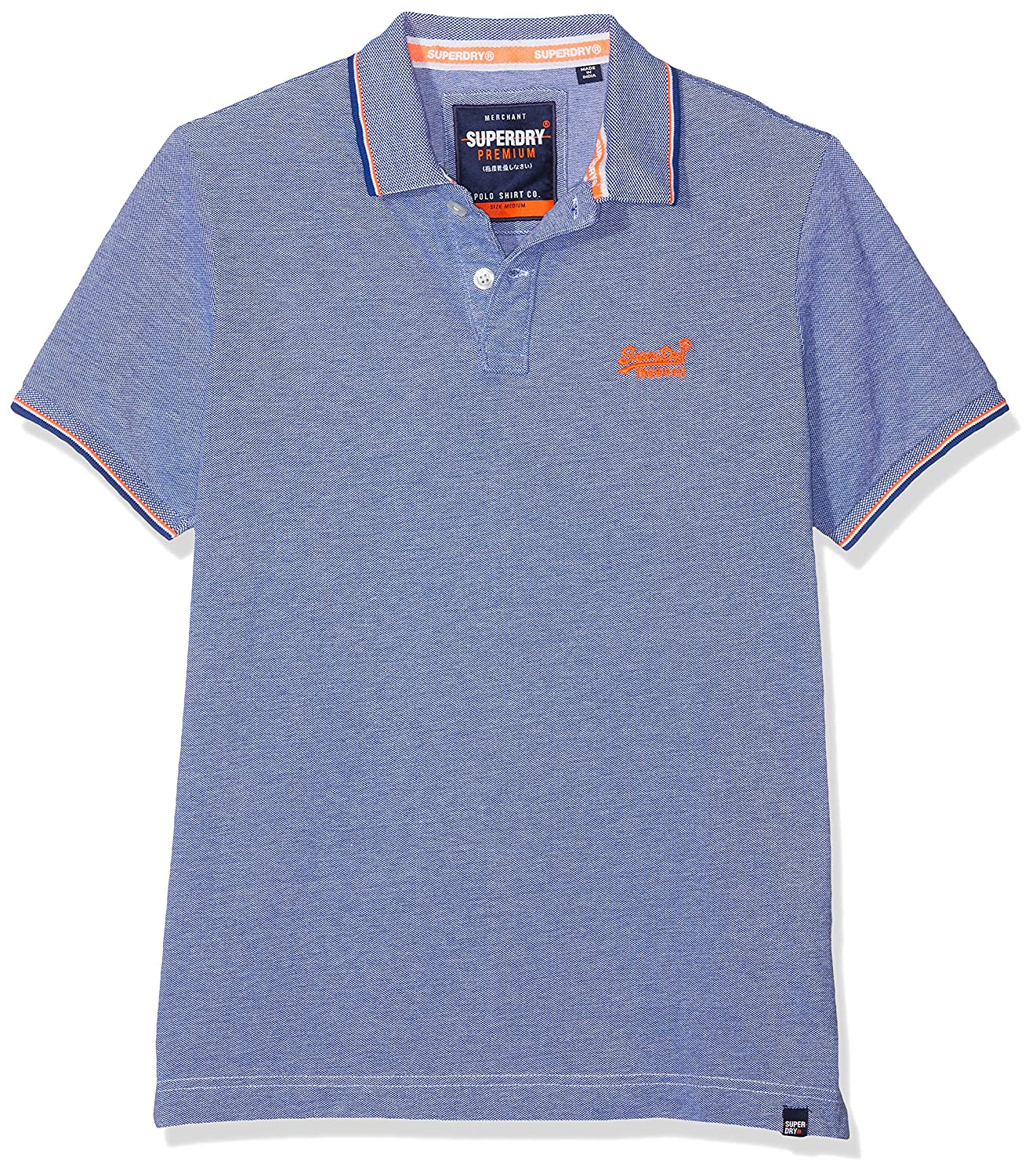 41da4b056b3a Superdry Men's Classic Poolside Pique Polo Shirt: Amazon.co.uk: Clothing