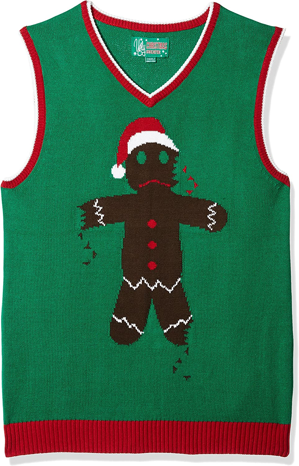 Ugly Christmas Sweater Company Assorted Xmas Themes Vests