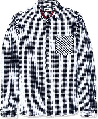 Tommy Hilfiger Essential Gingham Check Camisa para Hombre: Amazon.es: Ropa y accesorios
