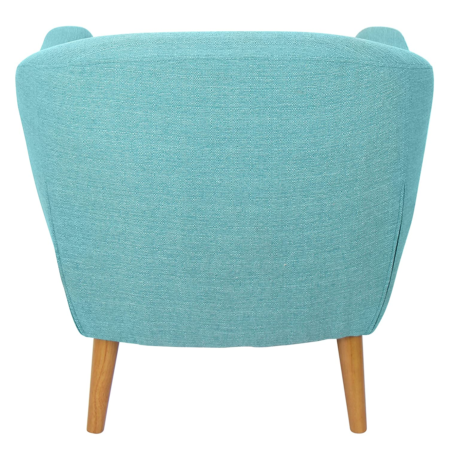 Teal Chair Amazoncom Lumisource Rockwell Mid Century Modern Accent Counter