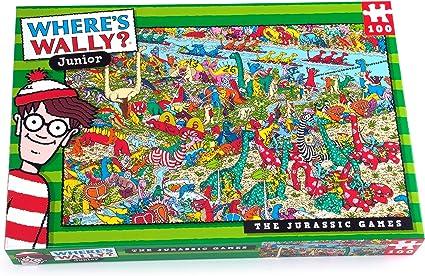 Wally Jurassic Puzzle: Amazon.es: Juguetes y juegos