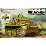 アスカモデル 1/35 ドイツ陸軍 2号戦車L型ルクス 増加装甲型 第4装甲偵察大隊仕様 プラモデル 35-006