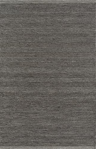 Momeni Rugs Mesa Collection, 100 Wool Hand Woven Flatweave Transitional Area Rug, 5 x 8 , Smoke