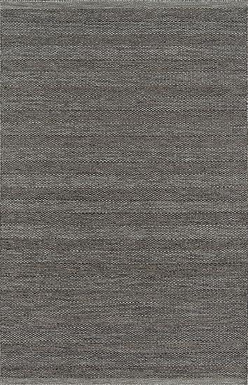 Momeni Rugs Mesa Collection 100 Wool Hand Woven Flatweave Transitional Area Rug 8 X 10 Smoke Furniture Decor