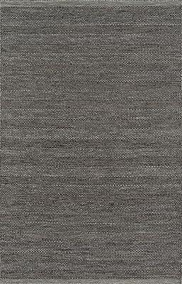 Momeni Rugs MESA0MES-2SMO5080 Mesa Collection, 100% Wool Hand Woven Flatweave Transitional Area Rug, 5' x 8', Smoke