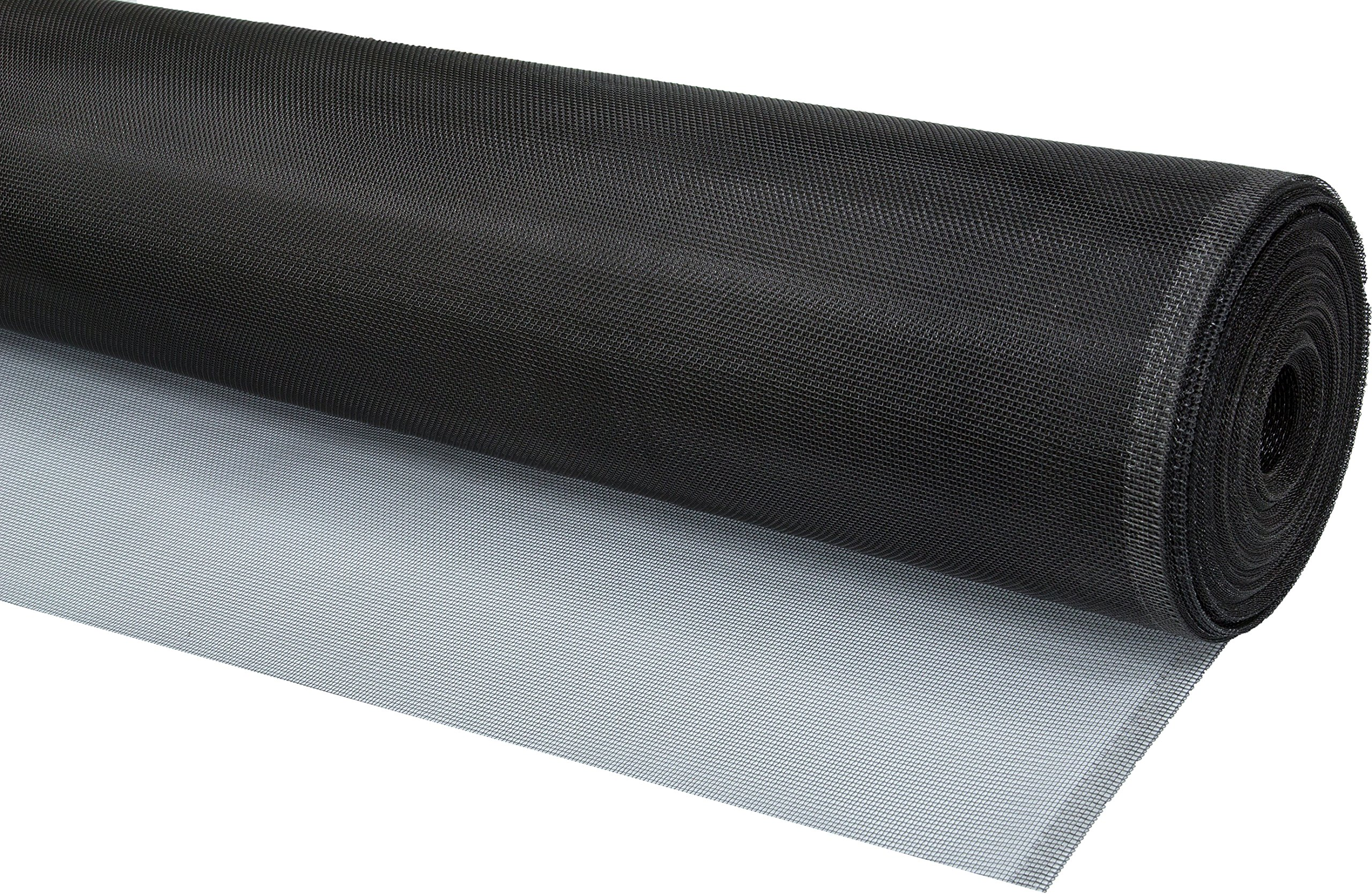 WJ Dennis & Company Climaloc SACL30100B Bulk Roll of Strong Durable Aluminum Replacement Screen for Professionals, 30-Inch x 100-Feet, Black