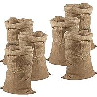 Meister Sacos de Yute 105 x 60 cm – 50 kg de Carga – Sacos ecológicos de Fibra Natural – 100% Yute – Resistentes / Saco…