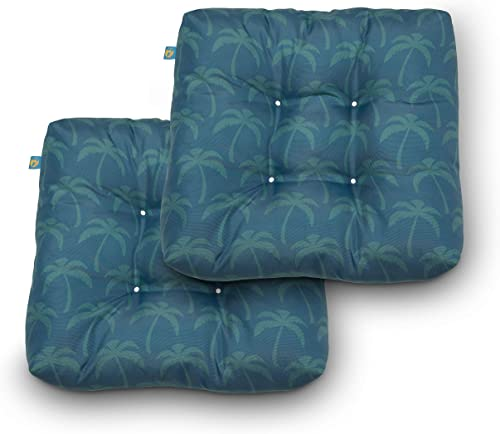 Duck Covers Water-Resistant 19 x 19 x 5 Inch Indoor Outdoor Seat Cushion