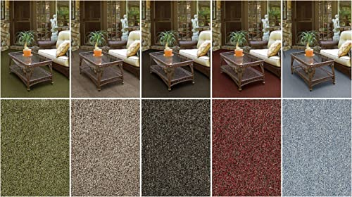 Cheap Multi-Colored Indoor/Outdoor Turf Area Rugs. Perfect living room rug for sale