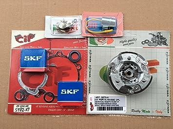 Kit completo mantenimiento Motor + chinchetas + condensador + Grupo embrague massette y trineos para todos