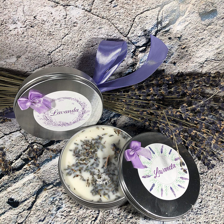 Candela profumatore per armadio tartine per bruciaessenze allolio essenziale di lavanda in cera di soia o cera dapi idea regalo decorazione per la casa regalo di natale