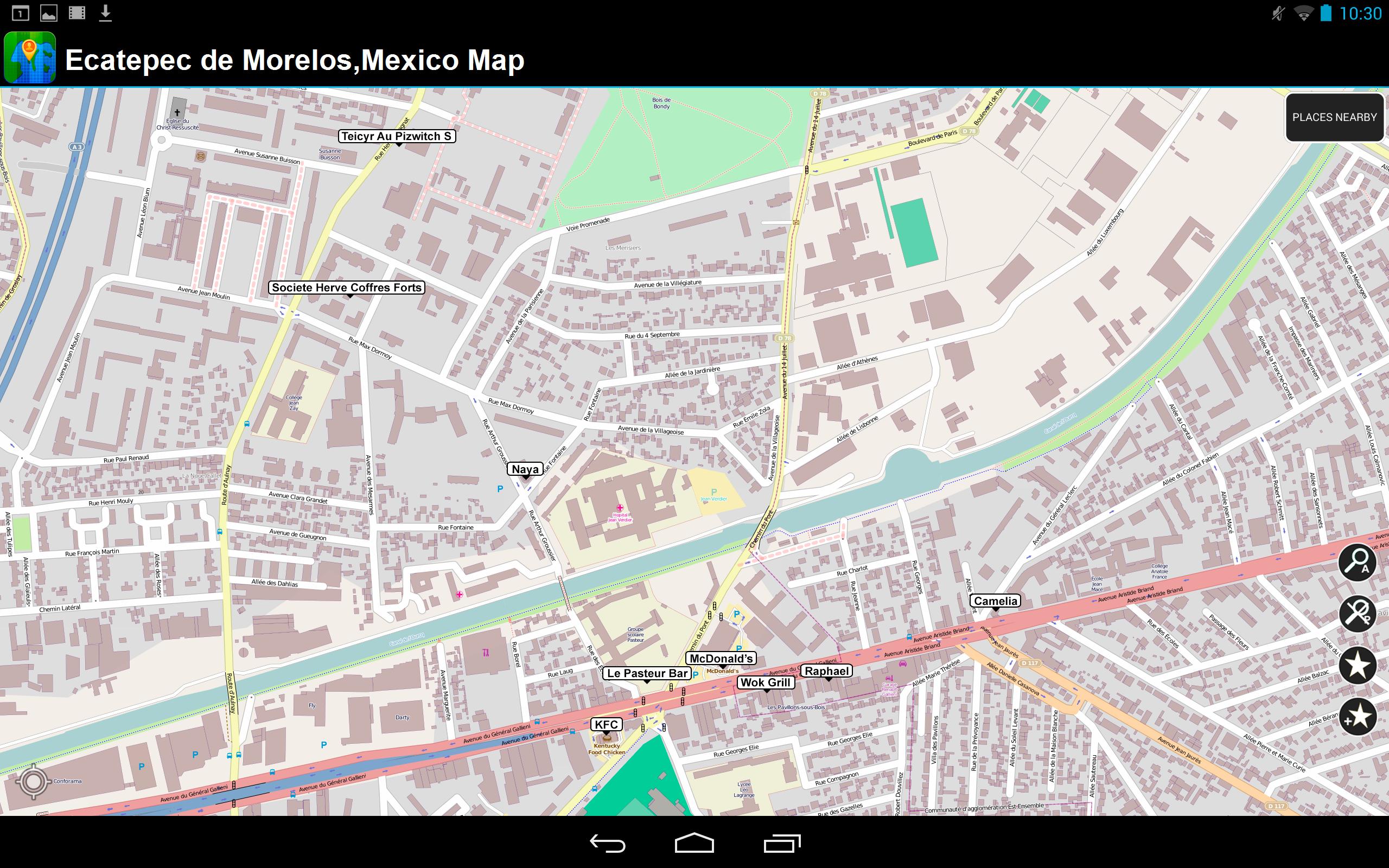 Ecatepec de Morelos, México - Desconectado Mapa: Amazon.es