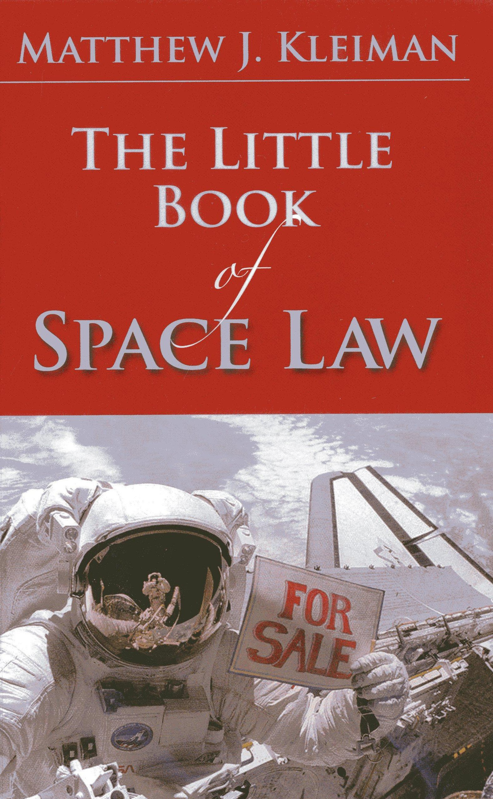 Image result for space law book