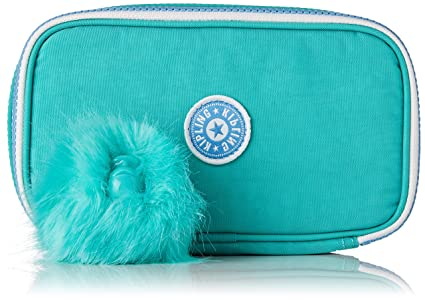 Kipling 50 PENS Estuches, 21 cm, 1 Liters, Azul (Deep Aqua C ...