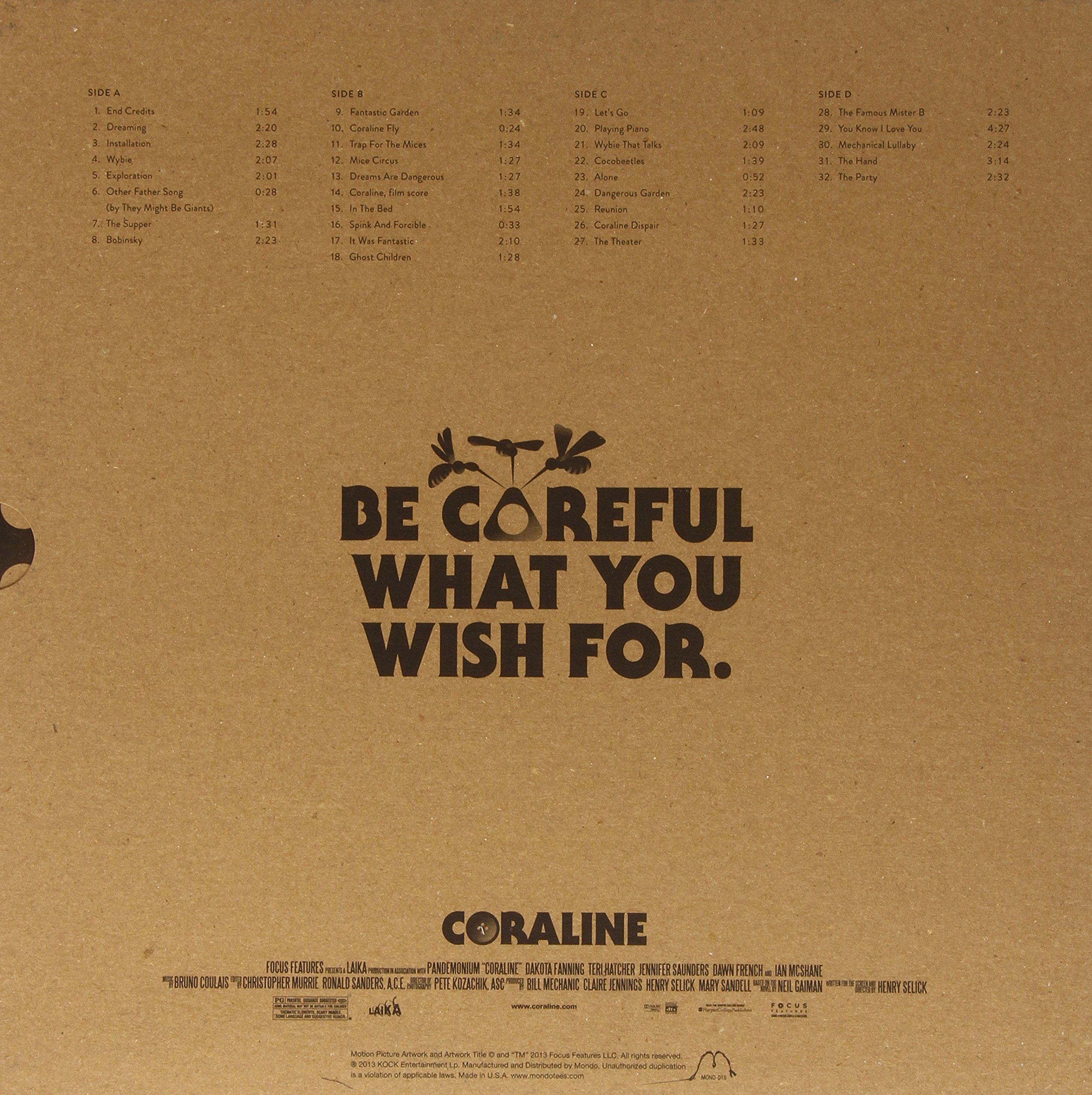 Coraline (Original Soundtrack) by MONDO
