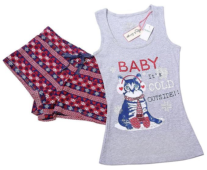 Primark - Pijama - Floral - para mujer multicolor multicolor