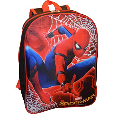 "Marvel Spiderman 15"" School Bag Backpack good"