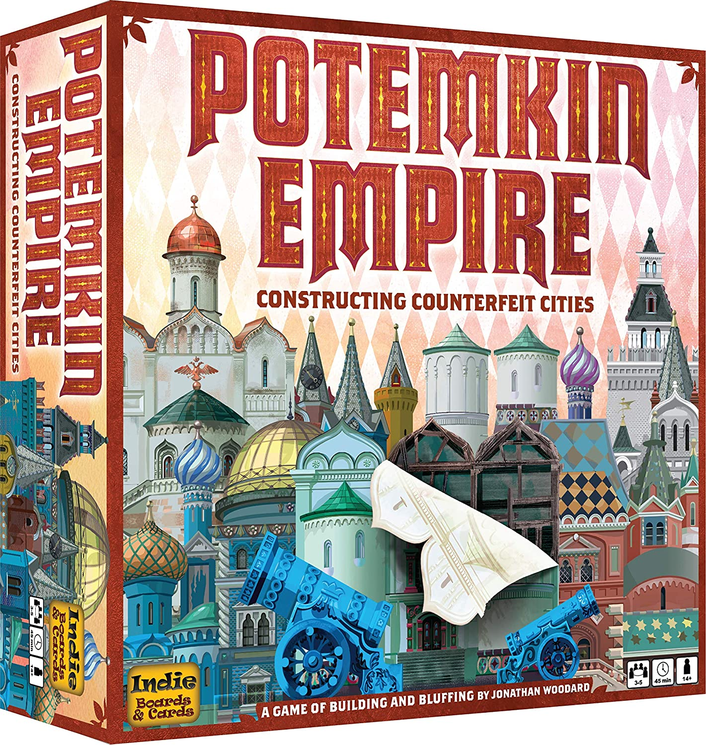 Indie Boards and Cards Potemkin Empire