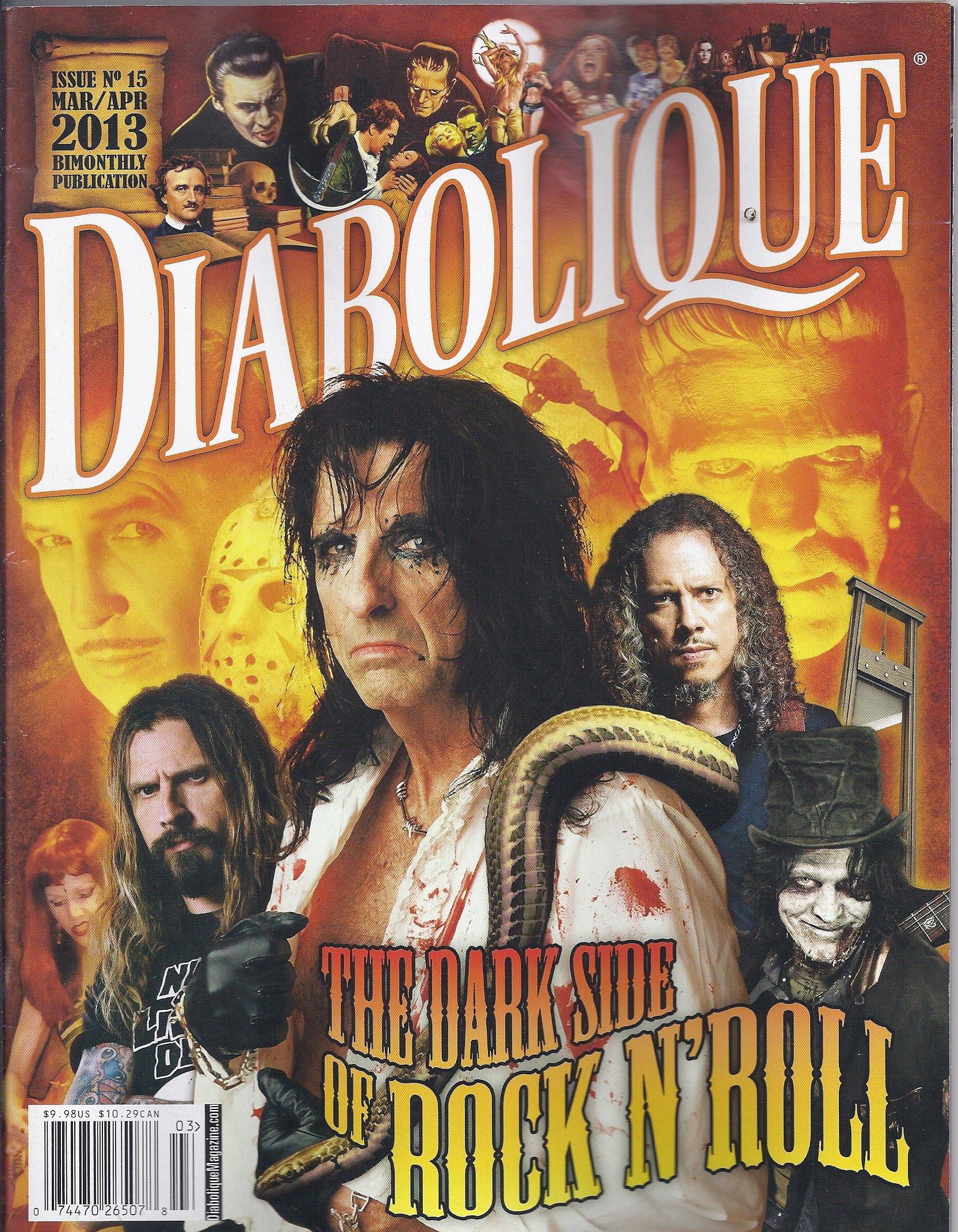 Read Online Diabolique Magazine # 15 (March/April 2013,Psycho,M,Rosemary`s Baby) pdf epub