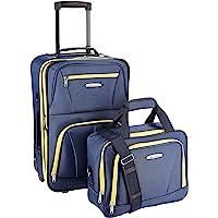 Rockland Luggage 2 Piece Set, Navy, One Size