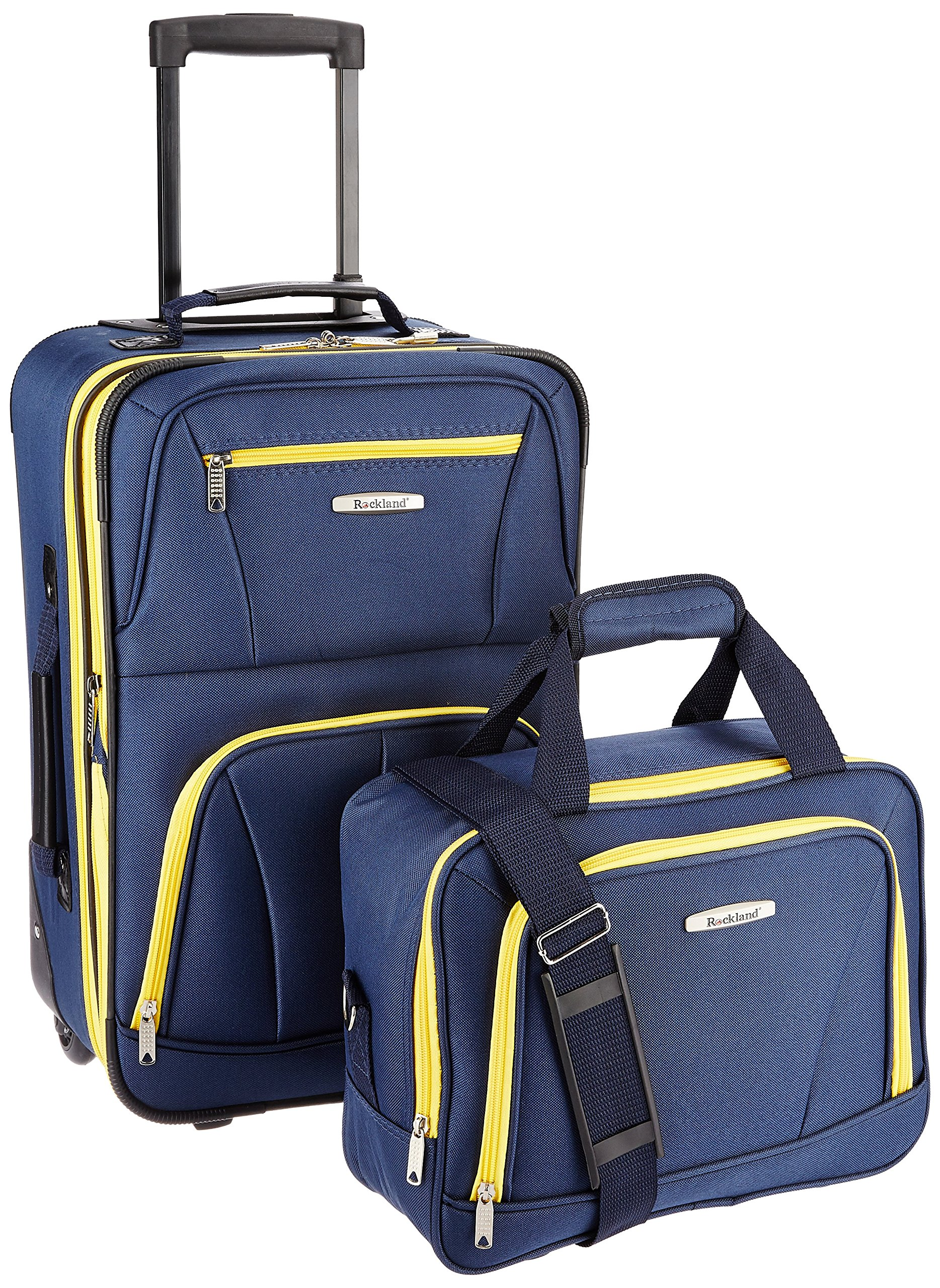 Rockland Luggage 2 Piece Set, Navy, One Size by Rockland