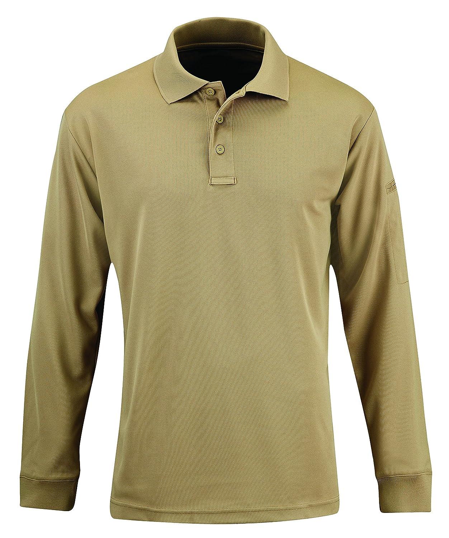 4cdcdf7ee24 Amazon.com  Propper Men s Uniform Long Sleeve Polo Shirt  Sports   Outdoors
