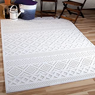 "product image for Orian All Day Crochet Area Rug, 7'9"" x 10'10"", Natural"