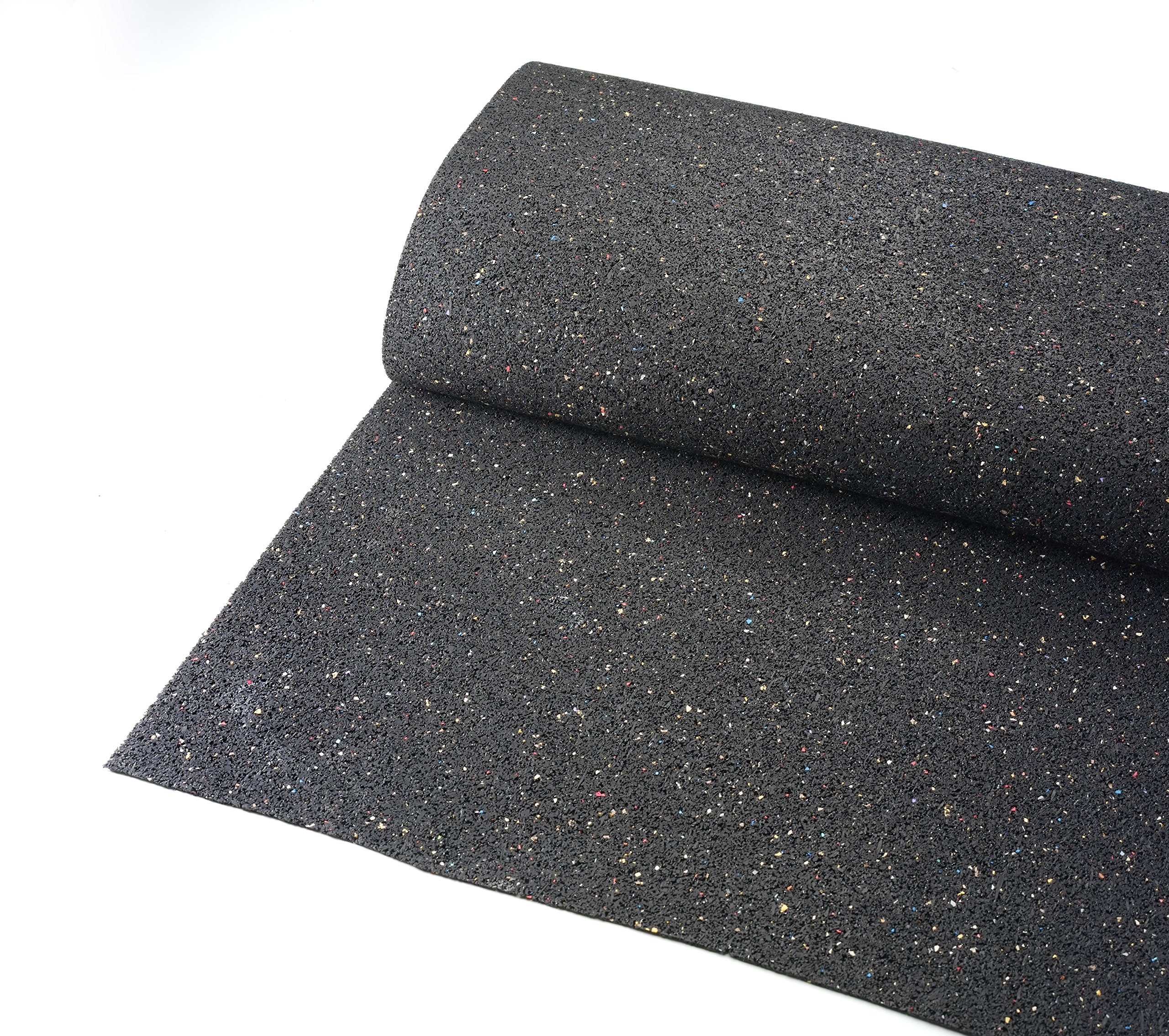 Swisstrax (ADBLRRU) Recycled Rubber Underlay for Double Car Pad