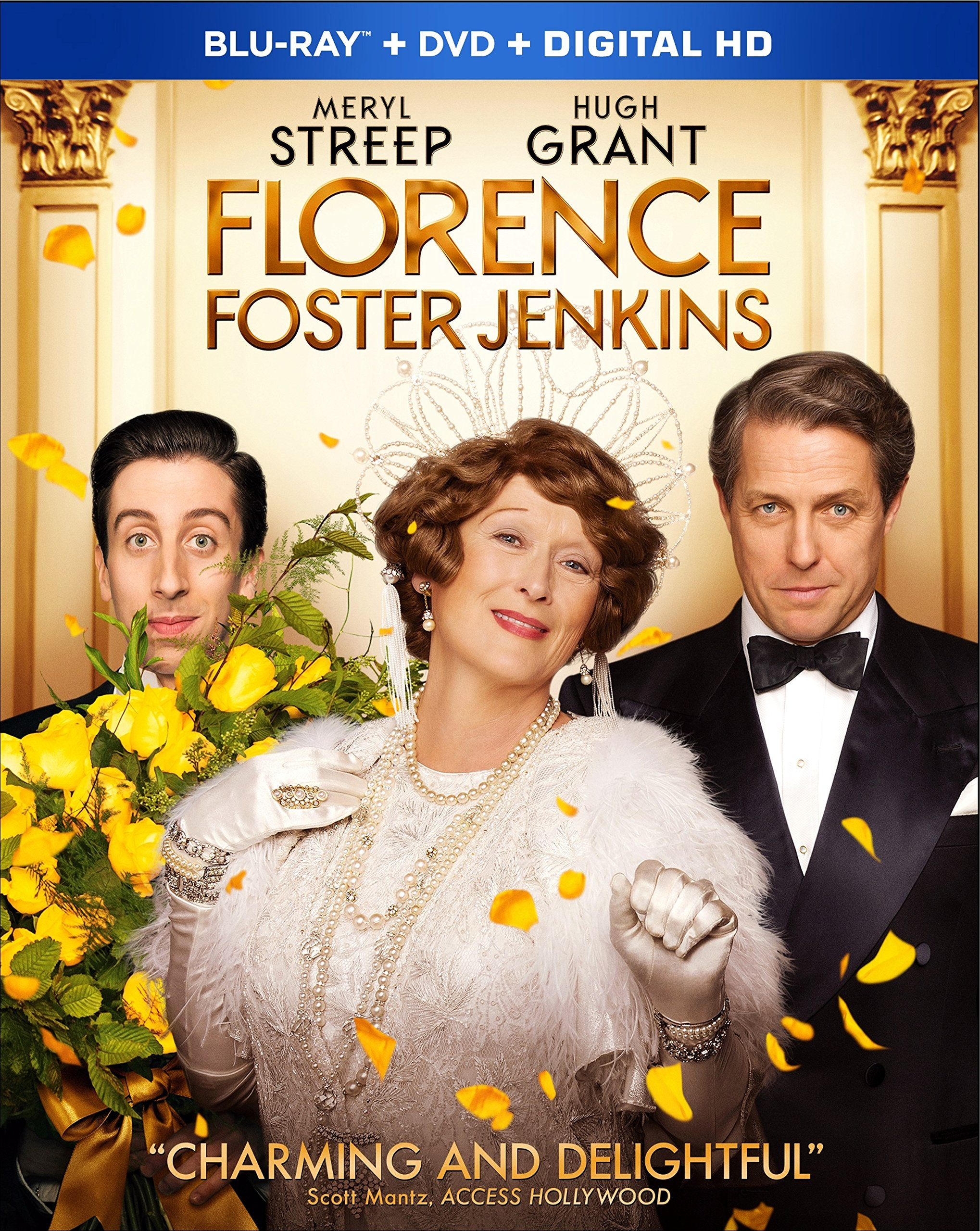 Blu-ray : Florence Foster Jenkins (With DVD, Digitally Mastered in HD, Widescreen, Dolby, AC-3)