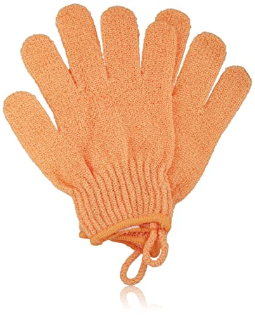 42e972cc8a550 Amazon.com : The Body Shop Bath Gloves, Orange : Bath Mitts And Cloths :  Beauty