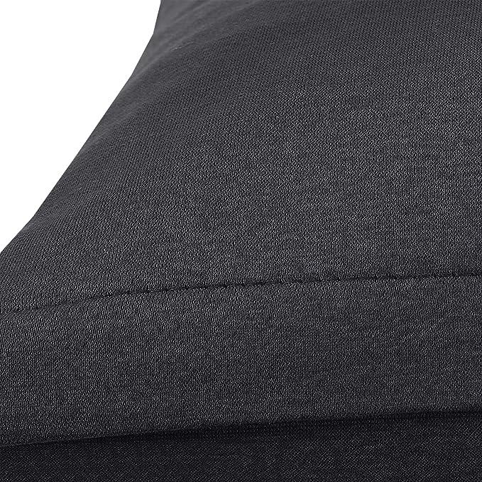 SHC Textilien Conjunto de Dos Fundas de Almohada, Funda de Almohada, Fundas 100% algodón con Cremallera - 15 Colores y 5 tamaños 40x60 cm ...
