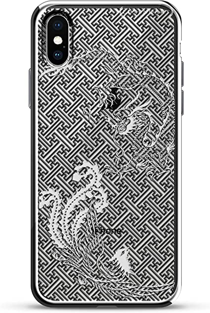 T-Phox Vintage Funda iPhone 7 Plus / 8 Plus negro