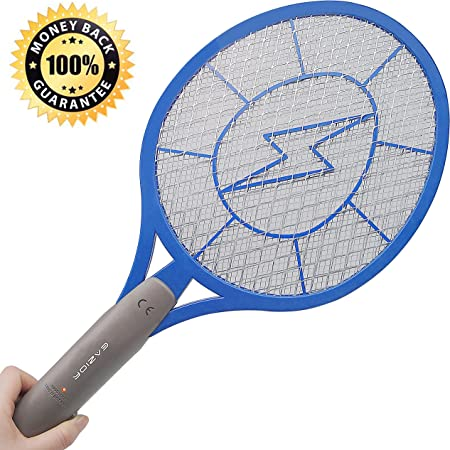 Elucto Electric Bug Zapper Fly Swatter Zap Mosquito Best for Indoor and Outdoor Pest Control AA Batteries Included