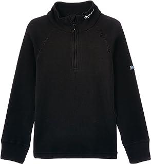 Odlo bambini Shirt L/S, collo alto 1/2Zip Warm Canottiere Intime lg. Arm Ki collo alto 1/2Zip Warm Canottiere Intime lg. Arm Ki ODLOA|#Odlo Originals Warm