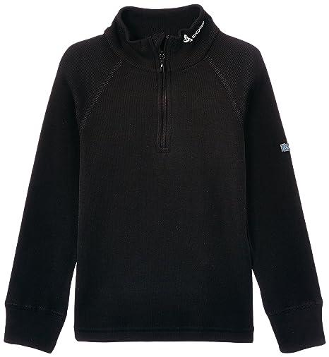Odlo Originals Warm - Camiseta térmica para niña o niño (manga larga, cuello alto