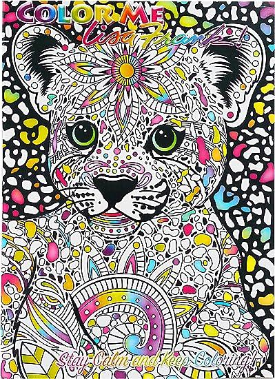 Amazon.com: Lisa Frank Color Me Coloring Book - Hunter: Toys & Games