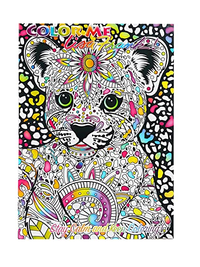 Amazon.com: Lisa Frank Color Me Coloring Book - Hunter: Toys & Games
