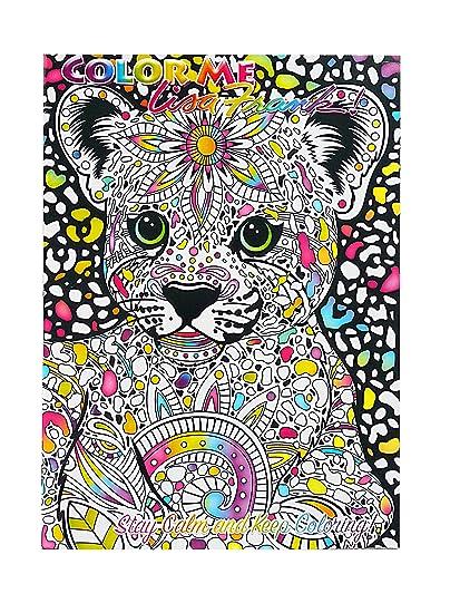 Amazon Com Lisa Frank Color Me Coloring Book Hunter Toys Games