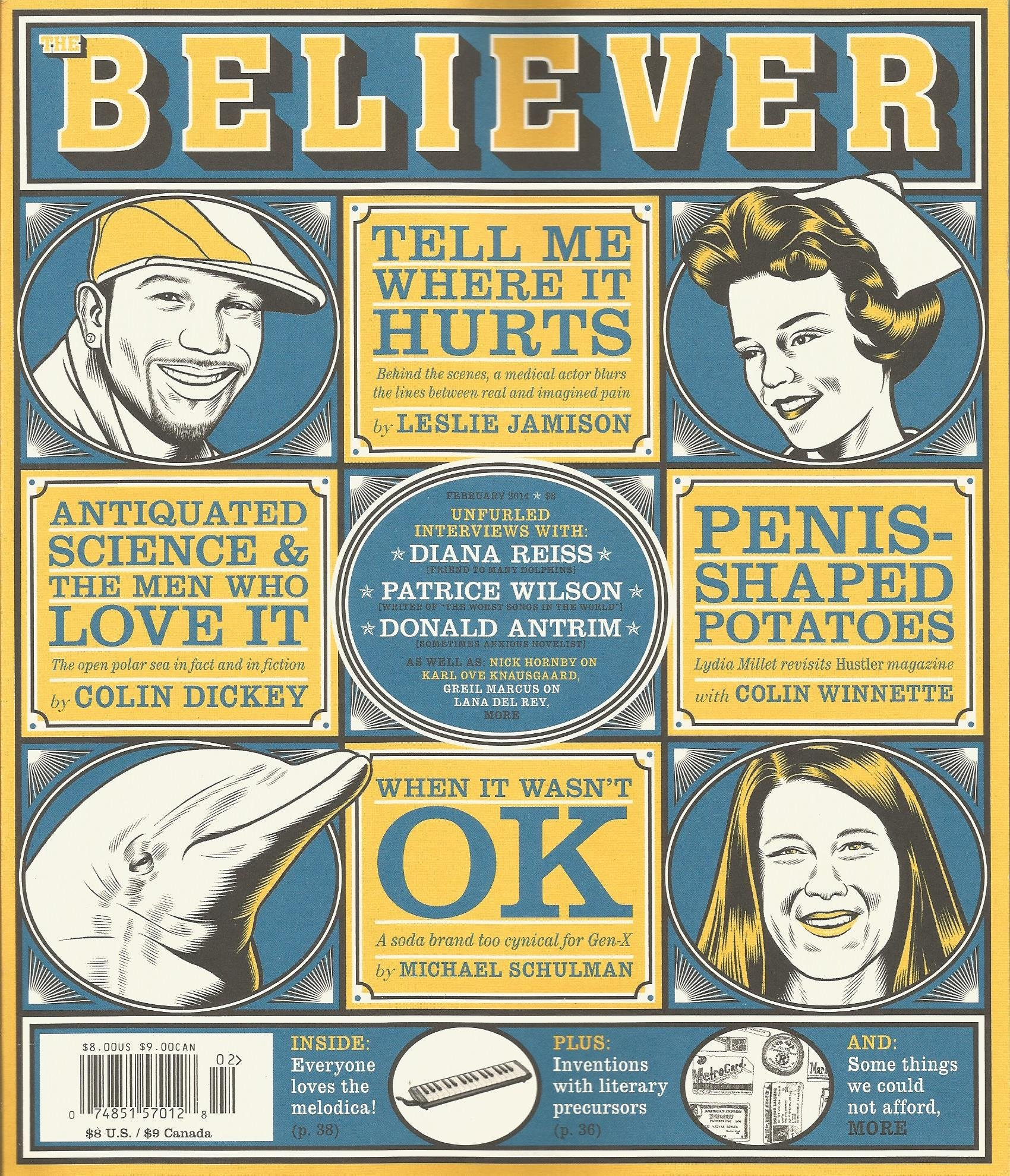 The Believer Magazine (Issue 105, February 2014): Heidi Julavits:  Amazon.com: Books