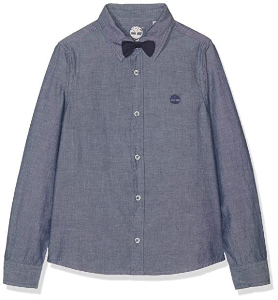 grand choix de 036fa d7eef Timberland Boy's Chemise Manches Longues Shirt: Amazon.co.uk ...