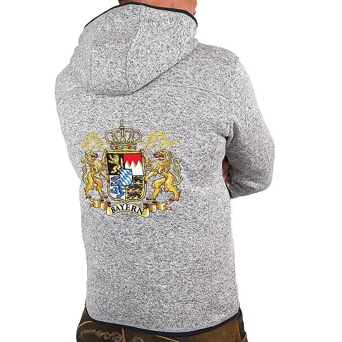die KULTJACKE Hoamatkult Österreich Jacke Damen Strickfleece