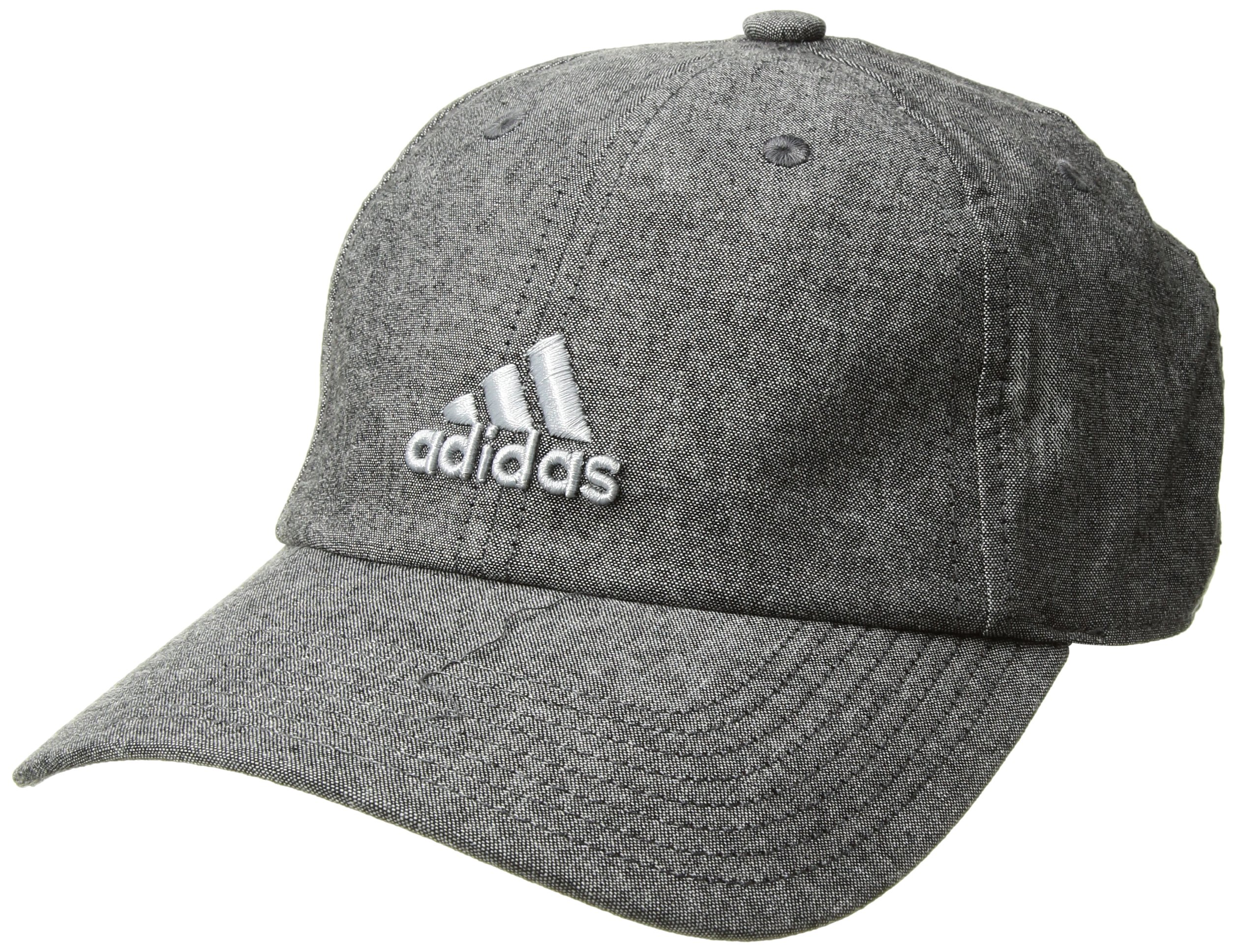 adidas Women's Saturday Relaxed Cap, Black/Grey/Clear Grey, One Size