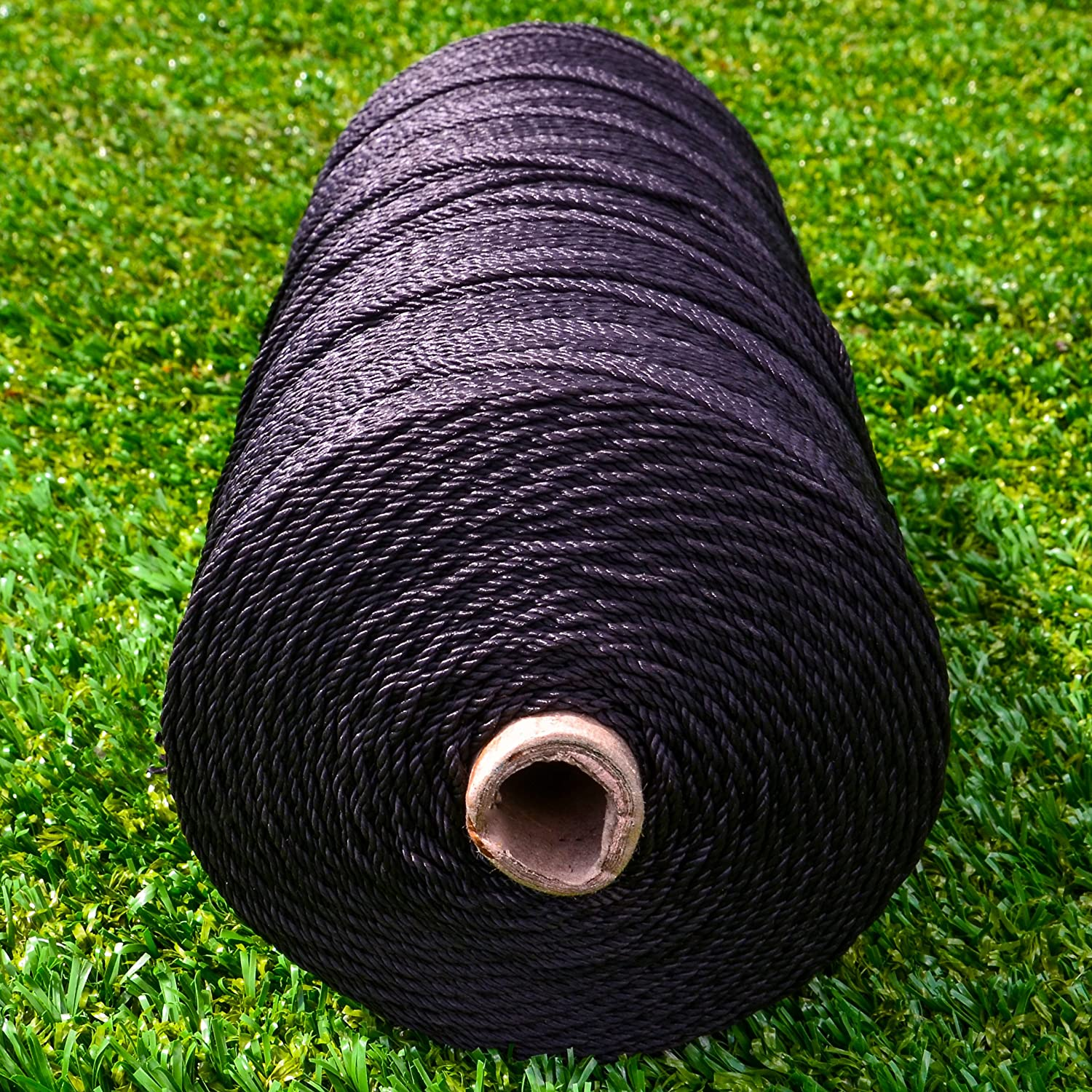 2mm / 4mm Net Repair & Lacing Tie Black Twine [Net World Sports]