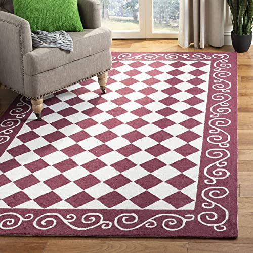Safavieh Chelsea Collection HK711C Hand-Hooked French Country Wool Area Rug