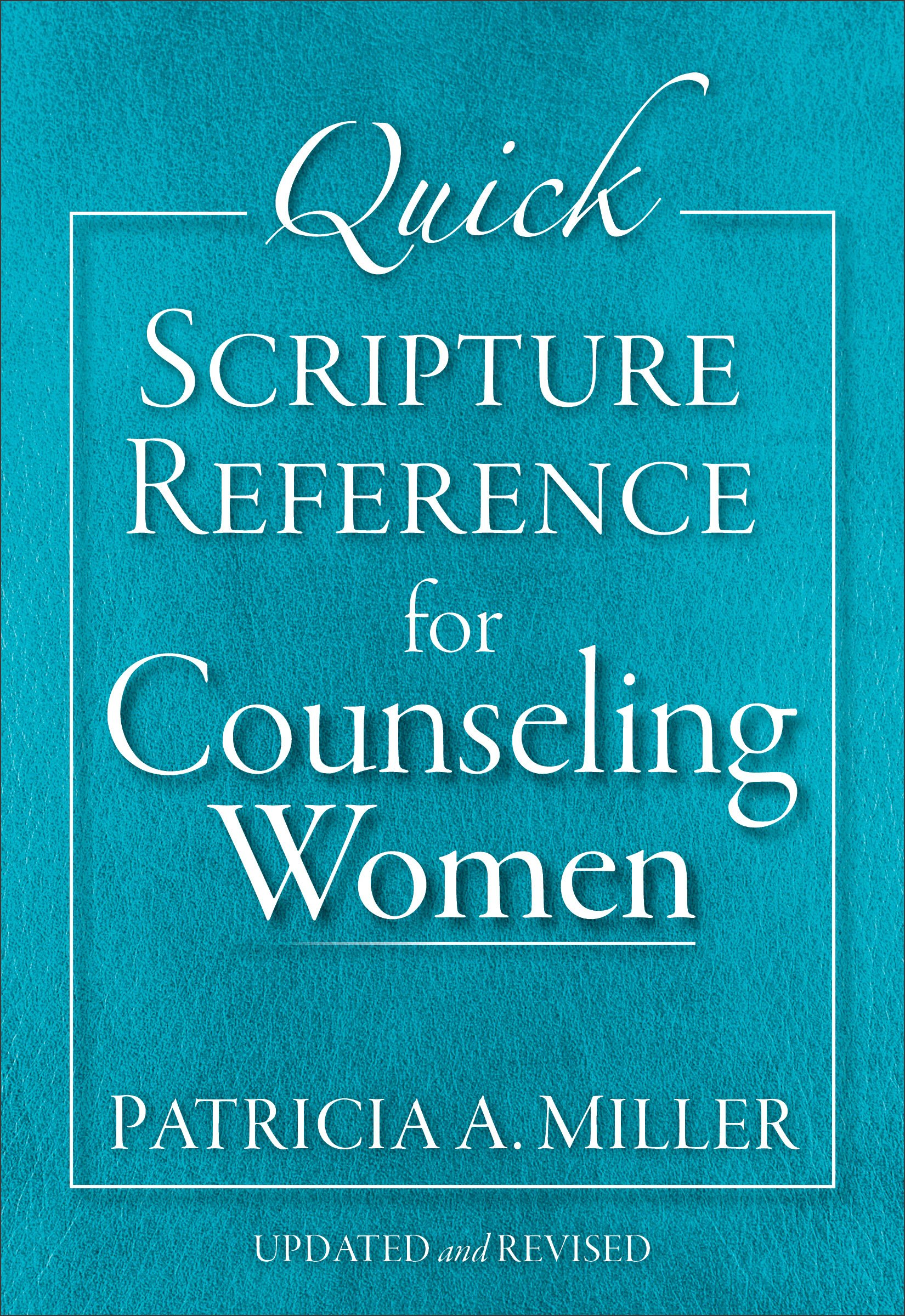 Quick Scripture Reference for Counseling Women pdf epub