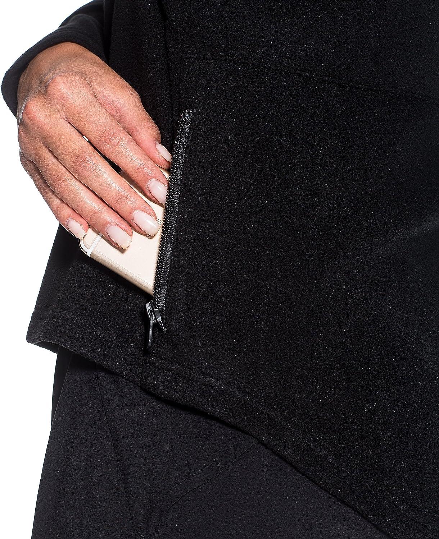 Mod/èle Vada 100/% Polaire Veste de sport /à Zip Gregster Plusieurs coloris disponibles Manches longues