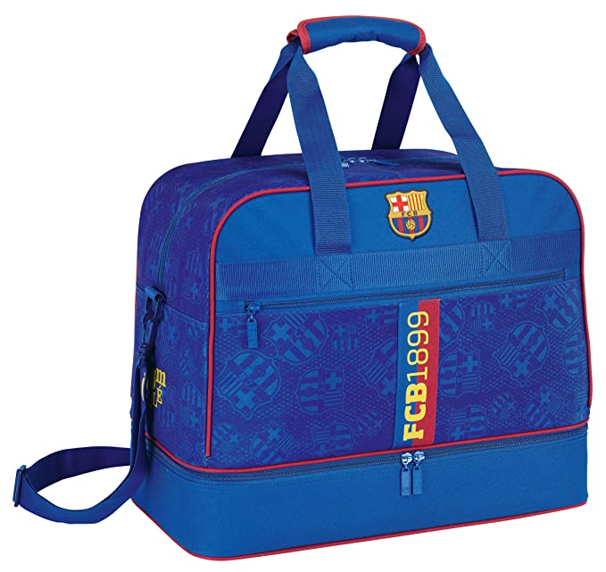 F.C. Barcelona - Bolsa deporte y zapatillero (Safta 7 11272 679)
