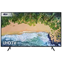 Samsung UE55NU7100 55-Inch 4K Ultra HD Certified HDR Smart TV - Charcoal Black (2018 Model) [Energy Class A]